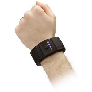 Bracer of Battery Life +2: Battery charger in a wearable