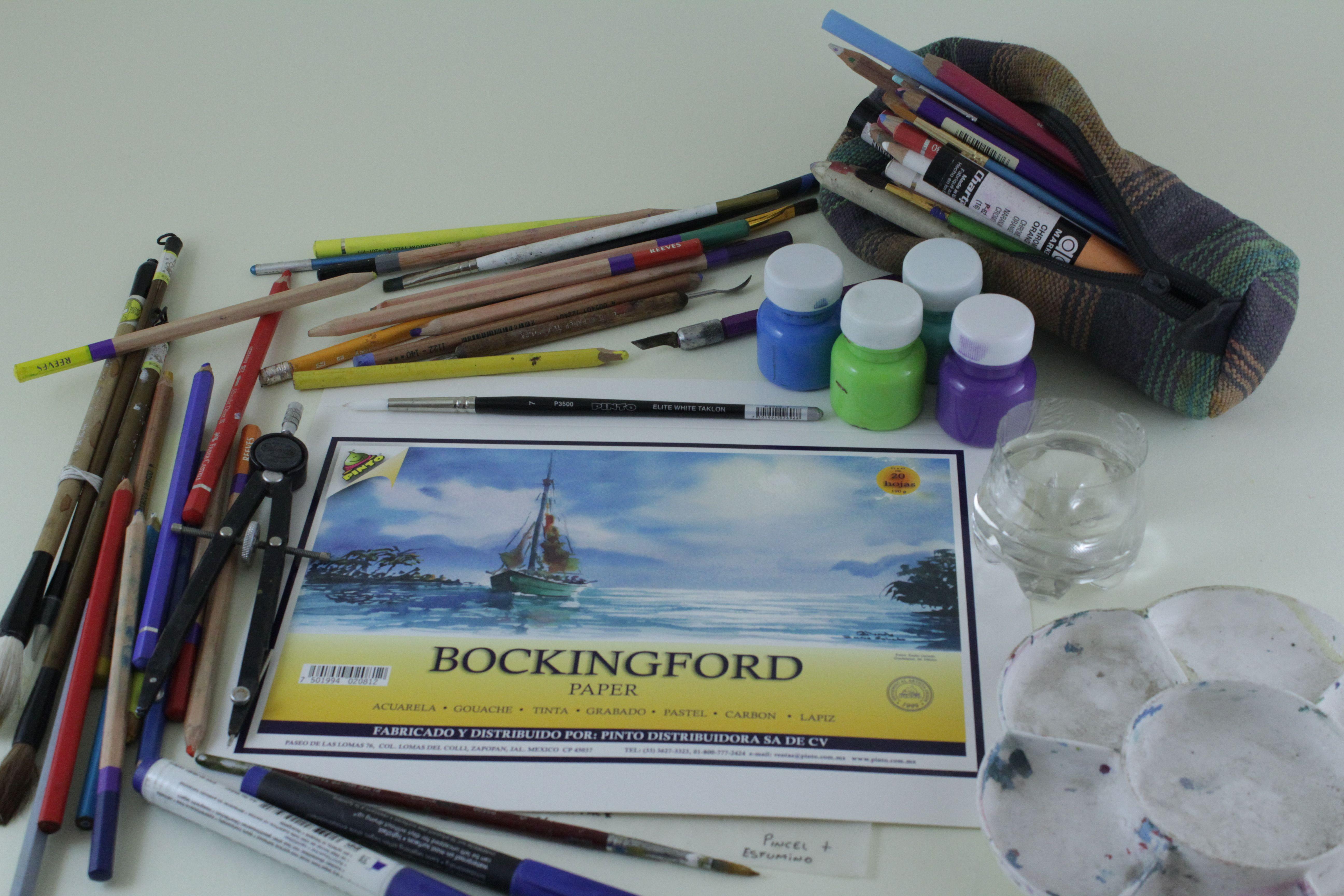 Block Para Diversas Tecnicas De Dibujo Y Pintura Mp3 Player Electronic Products Players