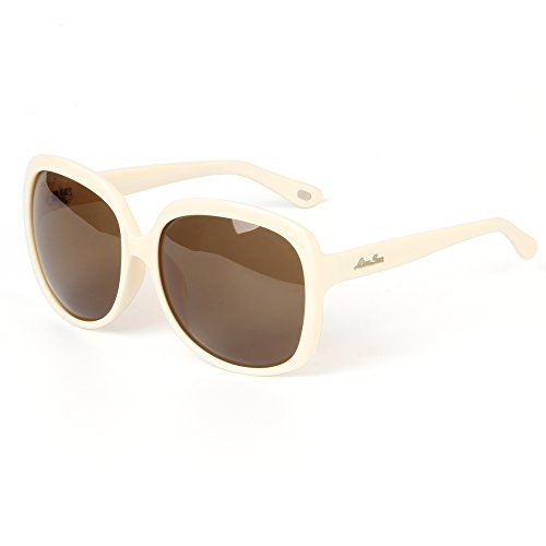 bc1b15b0822e6 LianSan Acetate Oversized Women s Sunglasses Uv400 Protection Polarized  Sunglasses Simple Sunglasses Lsp301H (POLARIZED WHITE)
