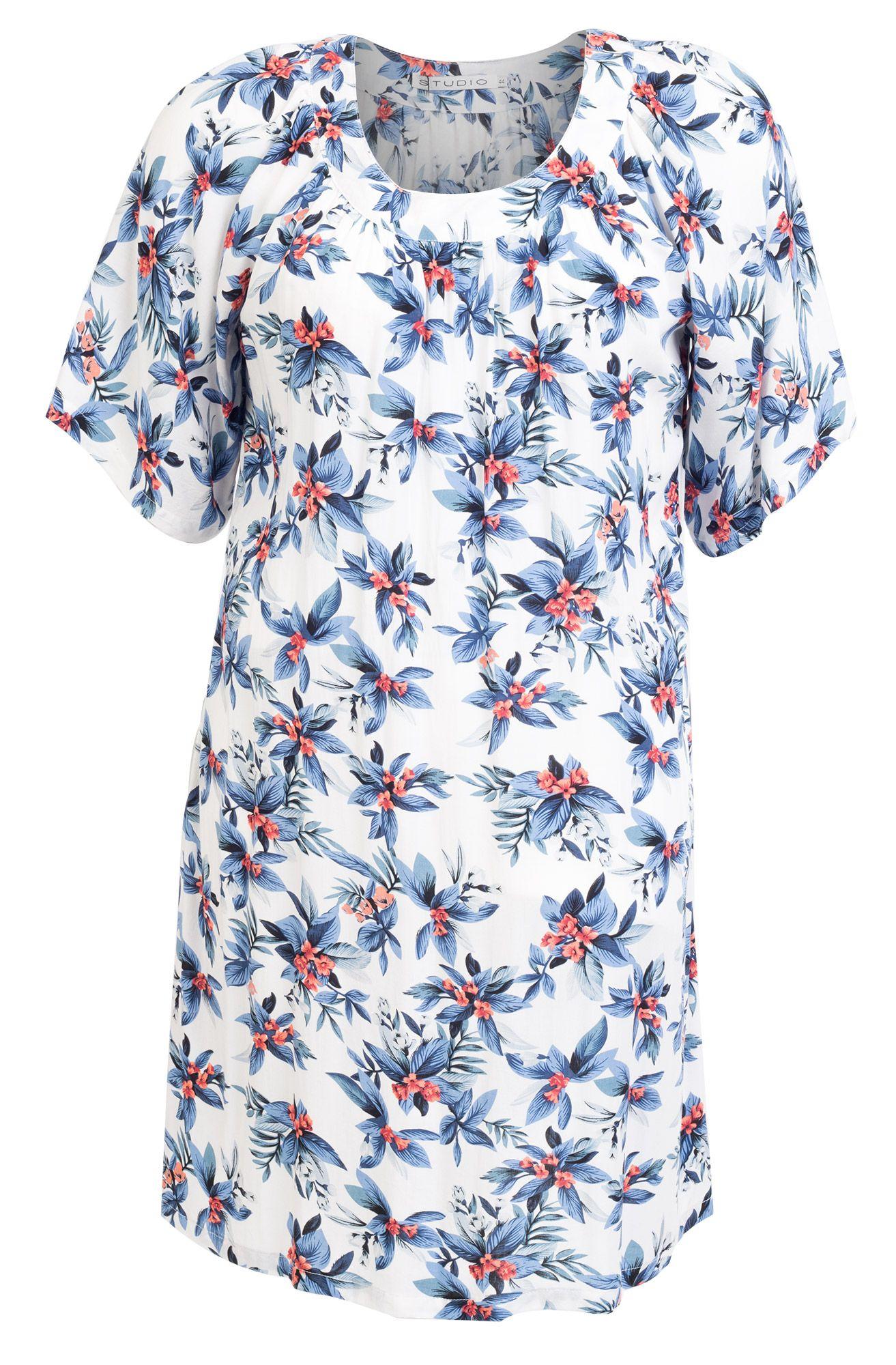 6751da91 Cool Dejlig viskose kjole med et flot blomster mønster Studio Modetøj til  Damer til enhver anledning