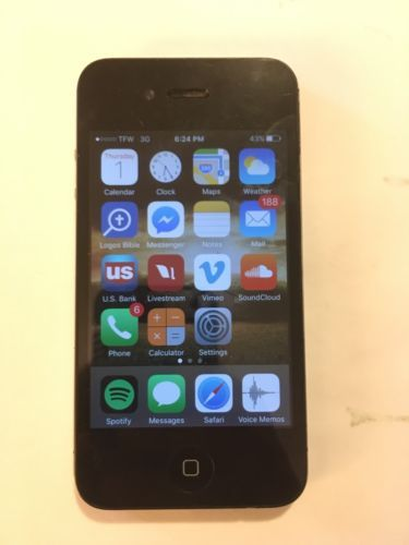 Apple iPhone 4s - 16GB - Black (att Unlocked) Speakerphone Only Works https://t.co/8tIrB78JW4 https://t.co/LscWqVf4sZ
