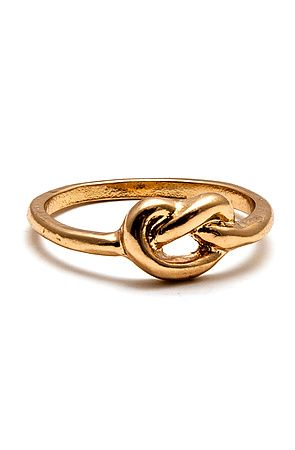 The Infinite Jest Ring In Gold by MKL Accessories 6 jewelry