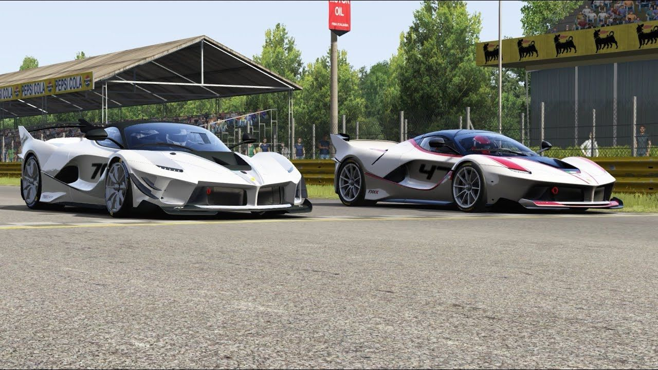 Ferrari FXX K Evo vs Ferrari FXX K at Monza Road Course