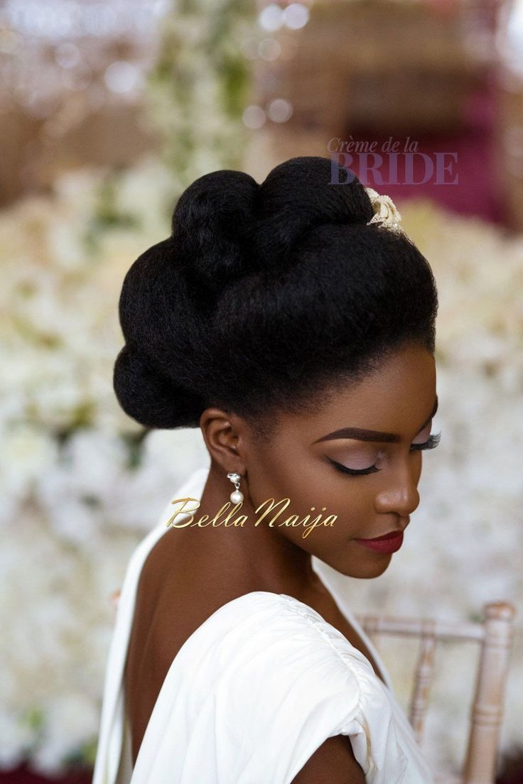 Image Result For Natural Hair Brides