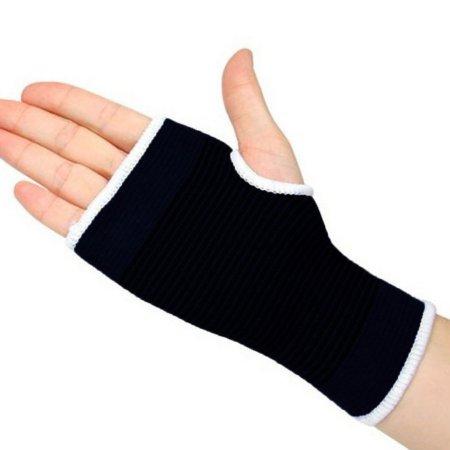 e2ffaae3c8 Men & Women Elastic Palm Wrist Support Glove Brace Sleeve With Strong Hand  Grip, Black