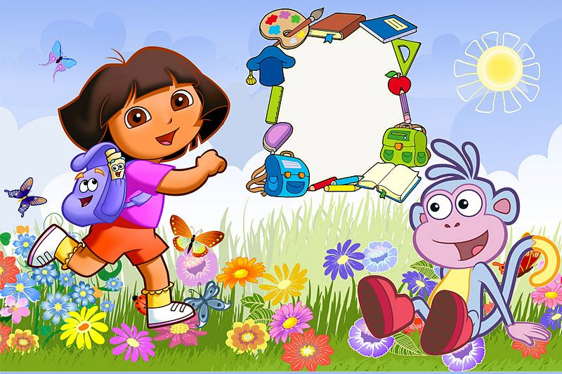 Dora the Explorer: Invitations and Free Party Printables