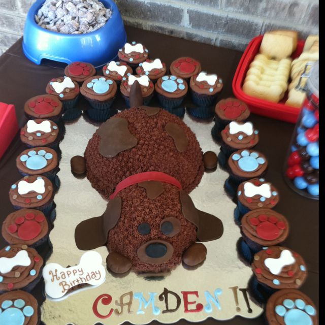 25+ Best Ideas About Cupcake Puppy Chow On Pinterest