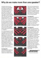 Bose 901 Direct Reflecting Speaker 1980 Ad Models 901 601 501 301 Direct Reflecting Speakers Model 601 Floor Standing Speak Bose Electronics Vintage Ads