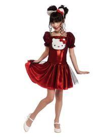 Hello Kitty Red Dress 34 99 Spirit Halloween Girls Halloween Halloween Costume Store Girl Red Dress Girl Costumes