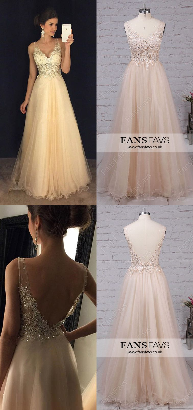 Champagne prom dresseslong prom dresses for girlssexy prom dresses