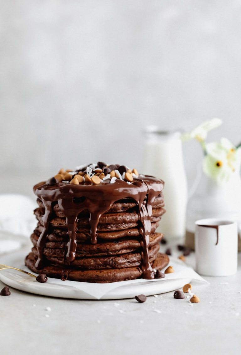 Chocolate Pancakes Recipe Chocolate Pancakes Savoury Cake Chocolate Chip Pancakes