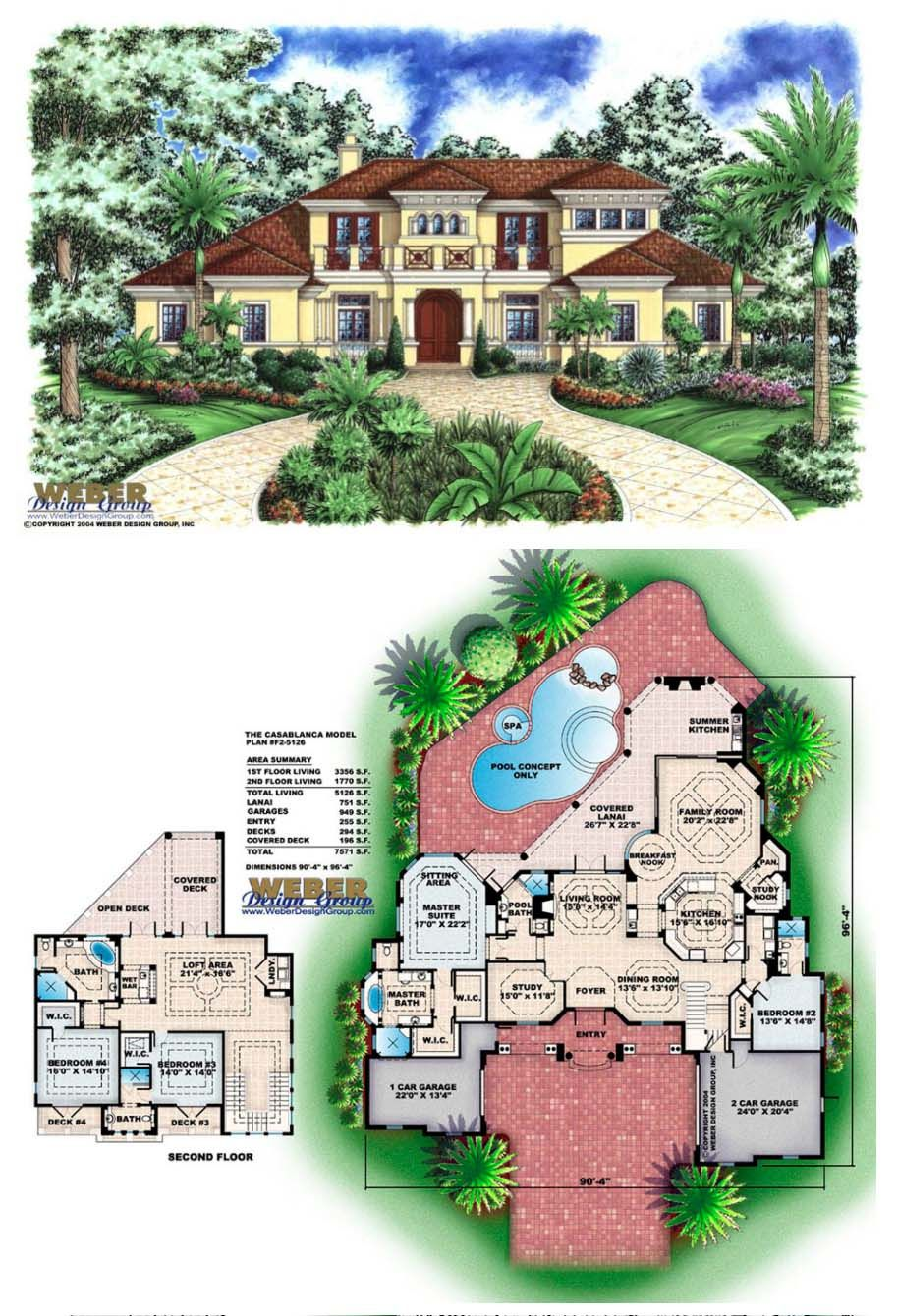 Mediterranean House Plan Island Style Mediterranean Home Floor Plan Luxury House Plans Mediterranean House Plan House Plans
