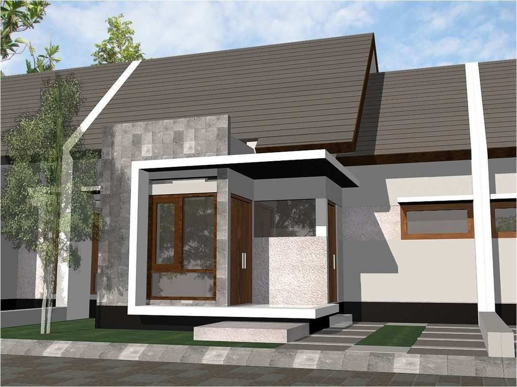 Desain Teras Rumah Pintu Samping Rumah Minimalis Desain Rumah