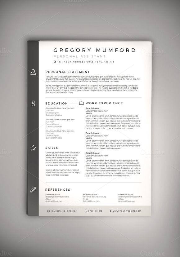 Classified Cv Resume Psd Word Doc Resume Design Template Creative Resume Templates Best Resume Template