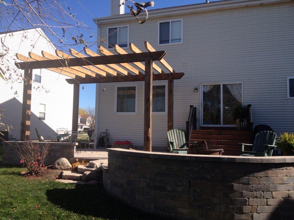 Barn wood pergola | Outside living, Wood pergola, Pergola