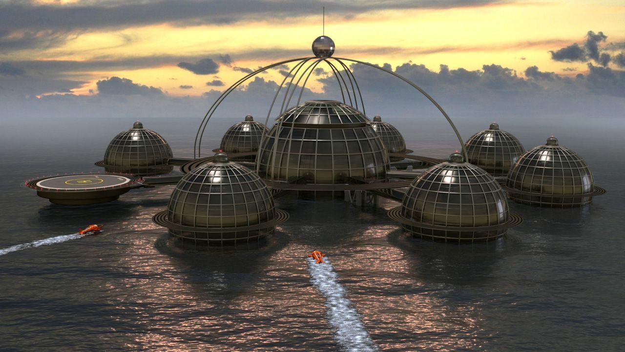 concept design - Sub-Biosphere 1