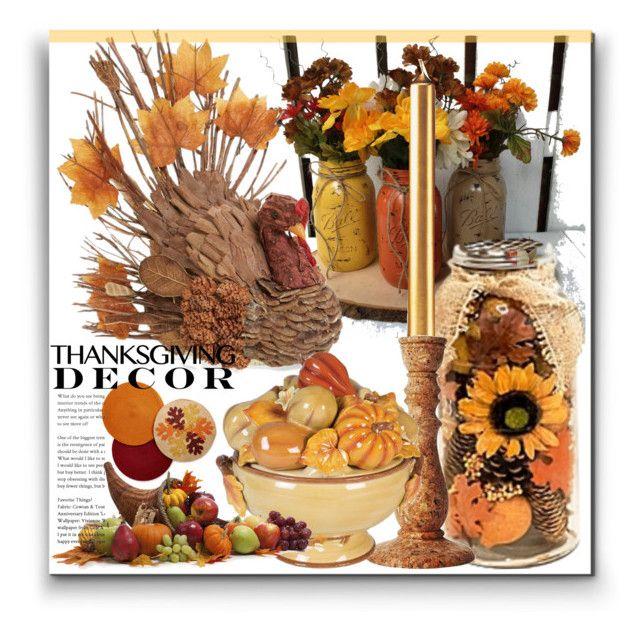 """Thanksgiving"" by marionmeyer on Polyvore featuring interior, interiors, interior design, Zuhause, home decor, interior decorating, Winward, Juliska, Fitz & Floyd und Homewear"