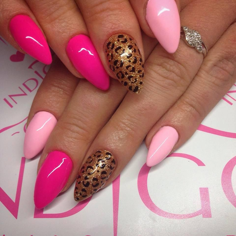 Maybe Baby Gel Brush, Neon Pink Gel Polish & Rich Gold Gel Polish by ...