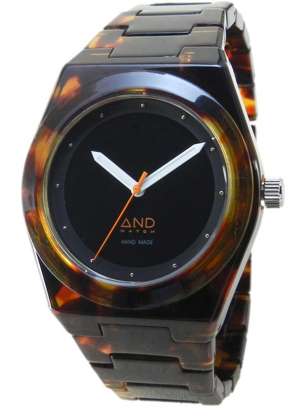 Click Image Above To Purchase: And Watch Unisex Xenophon Plastic Watch - Brown Rubber Strap - Black Dial - Adwxenophon.ltbk
