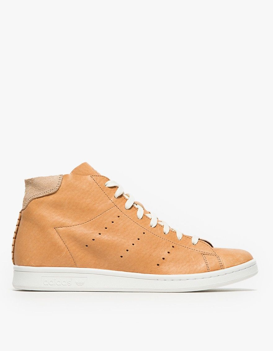 Adidas Stan Smith Mid para hombres Beige horween Lyst http: / /