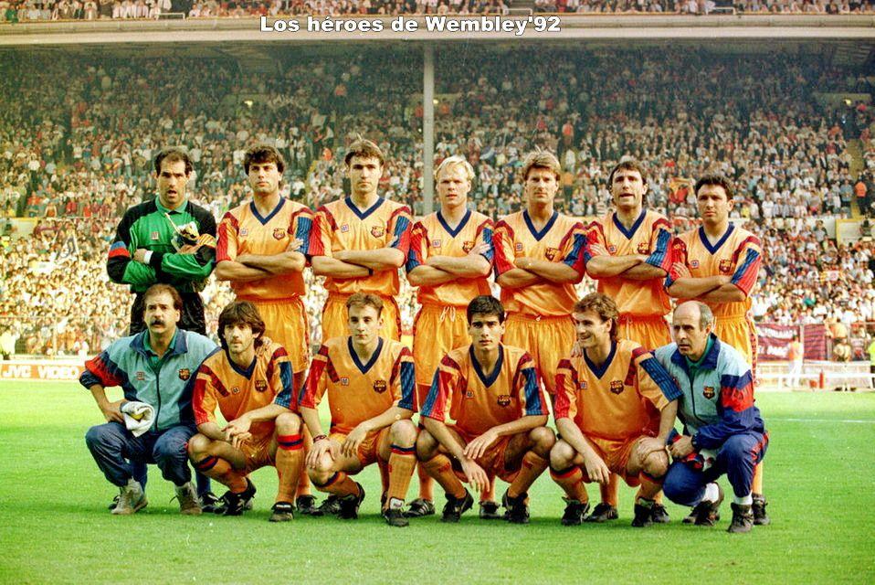 BARCELONA en la temporada 199192 Equipo de fútbol