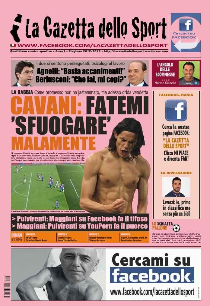 La COPERTINA DEL 30.10.2012
