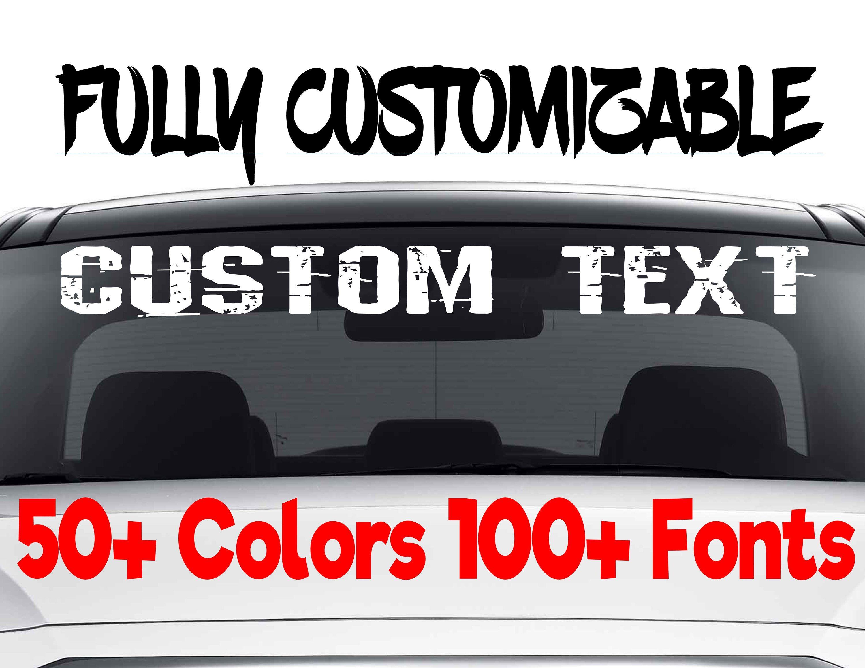 Sccustomdecaldesigns Custom Window Decals Custom Car Decals Custom Stickers [ 2318 x 3000 Pixel ]