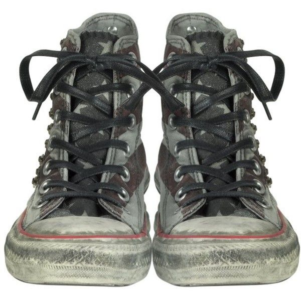 Converse Limited Edition Distressed Canvas High Top Sneaker w ...