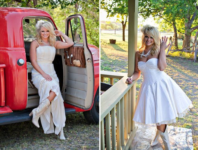Country Wedding Dresses Miranda Lambert Shelton My Dream