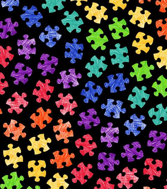 Pin By Larry Denton On Wallpapers Gangsta In 2020 Autism Colors Autism Puzzle Piece Puzzle Crafts