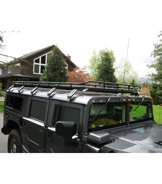 Gobi Hummer H1 Wagon Stealth Rack Multi Light Setup Hummer H1 Hummer Stealth
