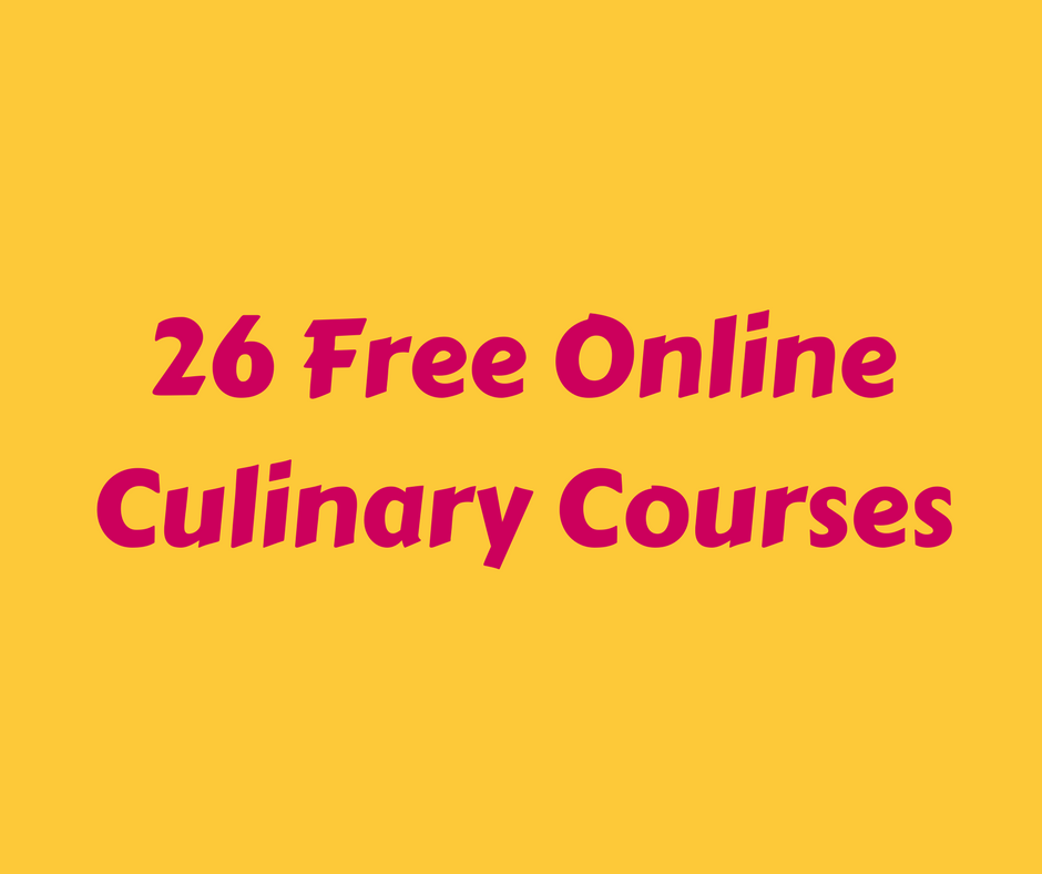 free online cooking course with certificate