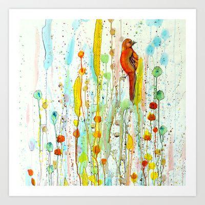 grandeur d'âme Art Print by Sylvie Demers - $20.00