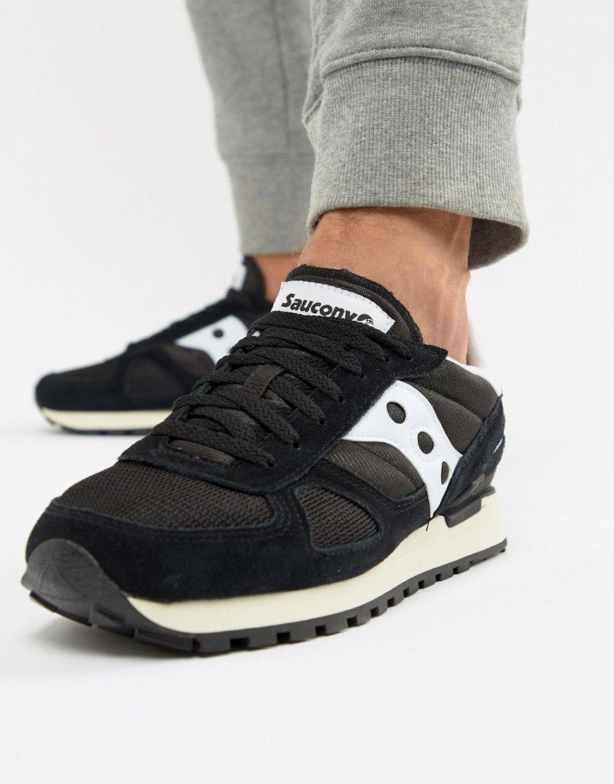 online retailer 225cc 35f8b SAUCONY SHADOW ORIGINAL SNEAKERS IN BLACK S70424-2 - BLACK.  saucony  shoes