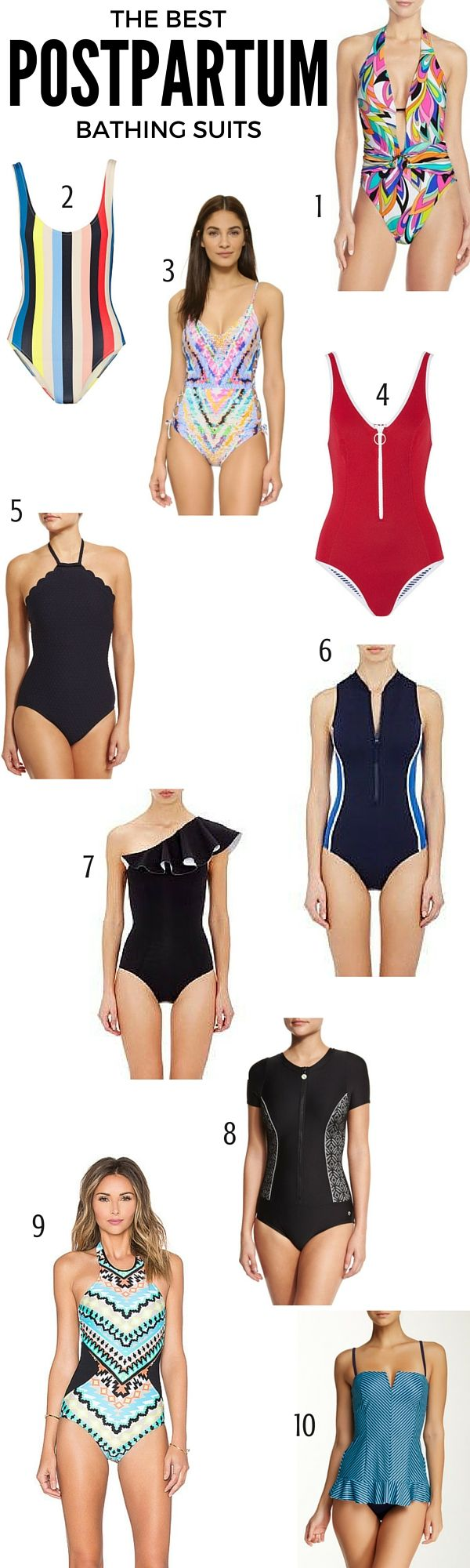 8178ba4d4affbd The 10 Best Postpartum Bathing Suits | Find out which brands made the cut  at blog.cuteheads.com