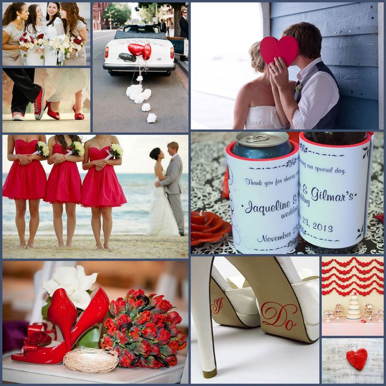 Wedding Color Combinations And Ideas For Your Favor Koozies