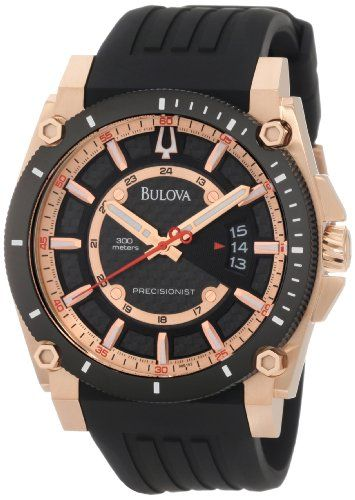 441157957 Bulova Men's 98B152 Precisionist Champlain Rubber Strap Watch -  http://www.healthymagpa.com/bulova-mens -98b152-precisionist-champlain-rubber-strap-watch/