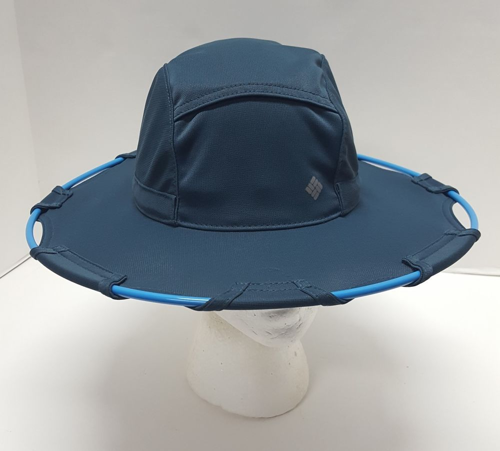 f5037248a5310 Columbia Omni Freeze Blue Sun Hat Fishing Outdoors hiking trail One Size   Columbia  BucketHat