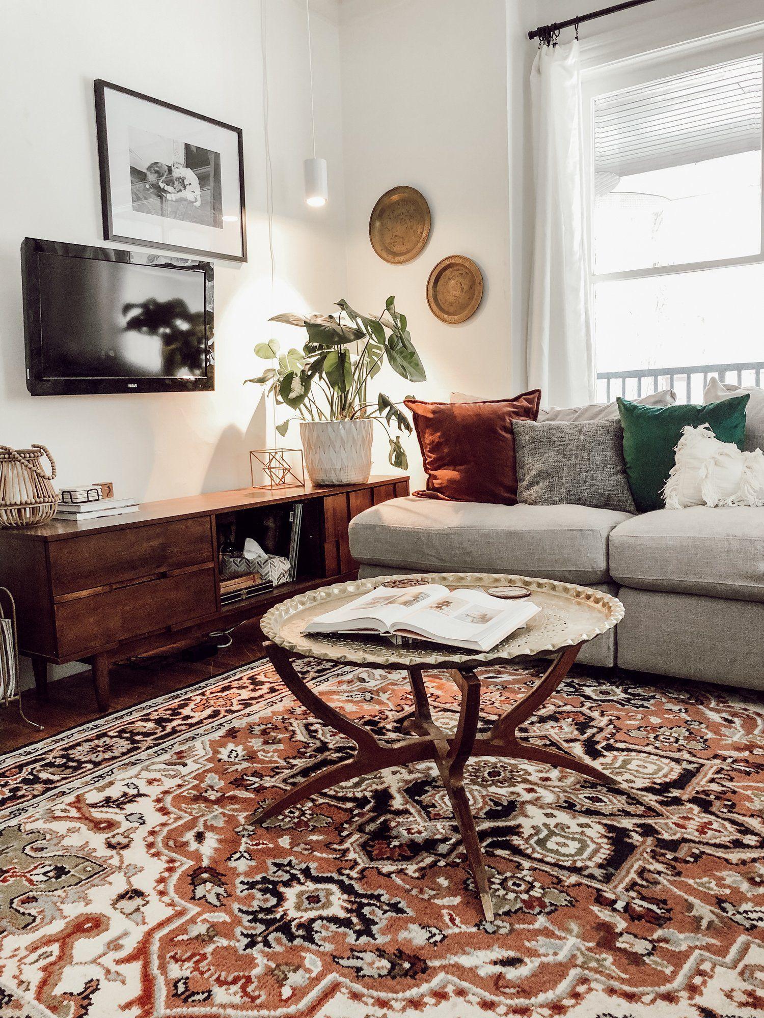 Modern Vintage Victorian House Tour Miranda Schroeder Vintage Living Room Modern Vintage Furniture Modern Vintage Decor
