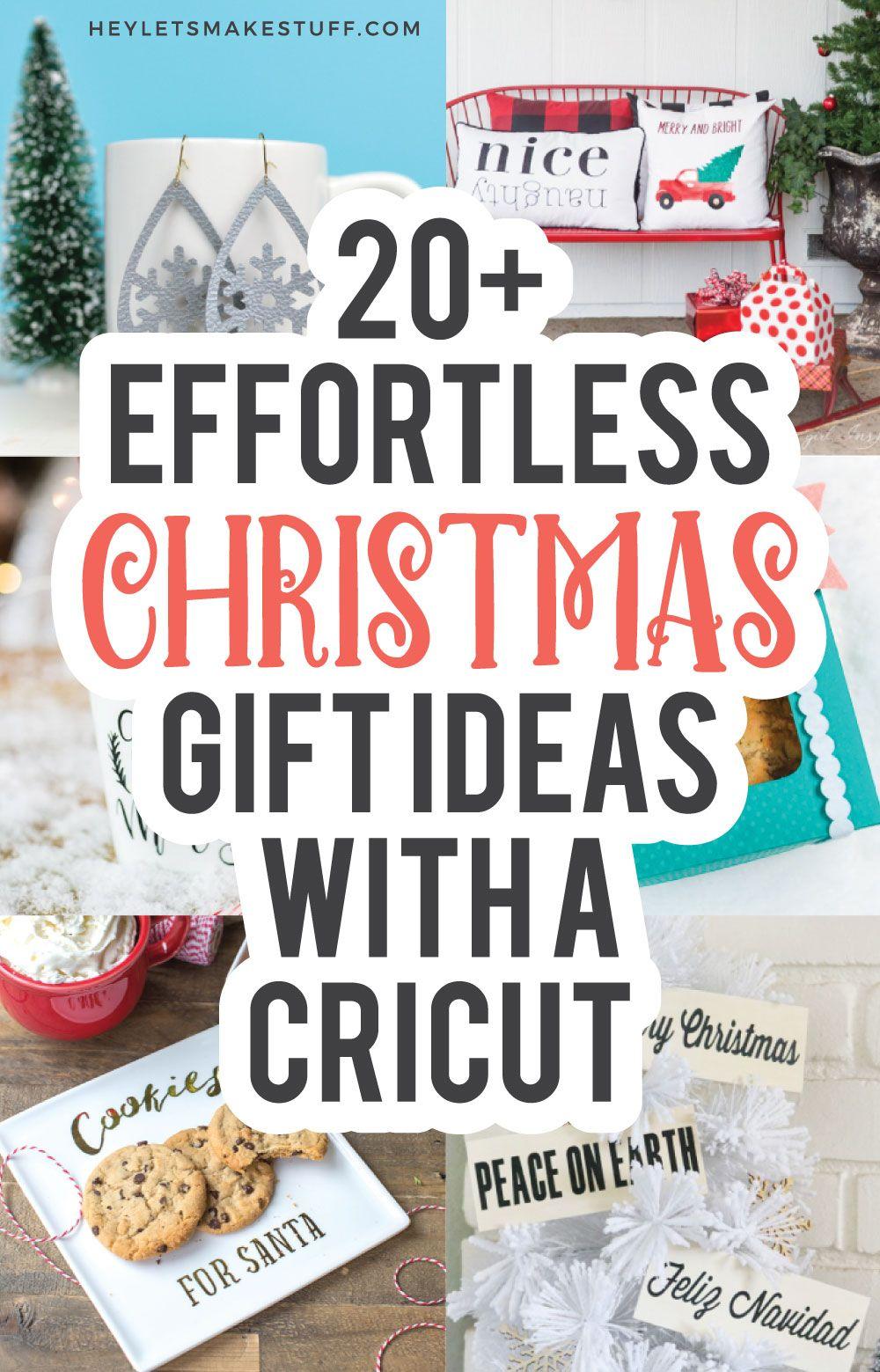 Easy Cricut Christmas Gift Ideas In 2020 Cricut Projects Christmas Cricut Christmas Ideas Crafty Christmas Gifts