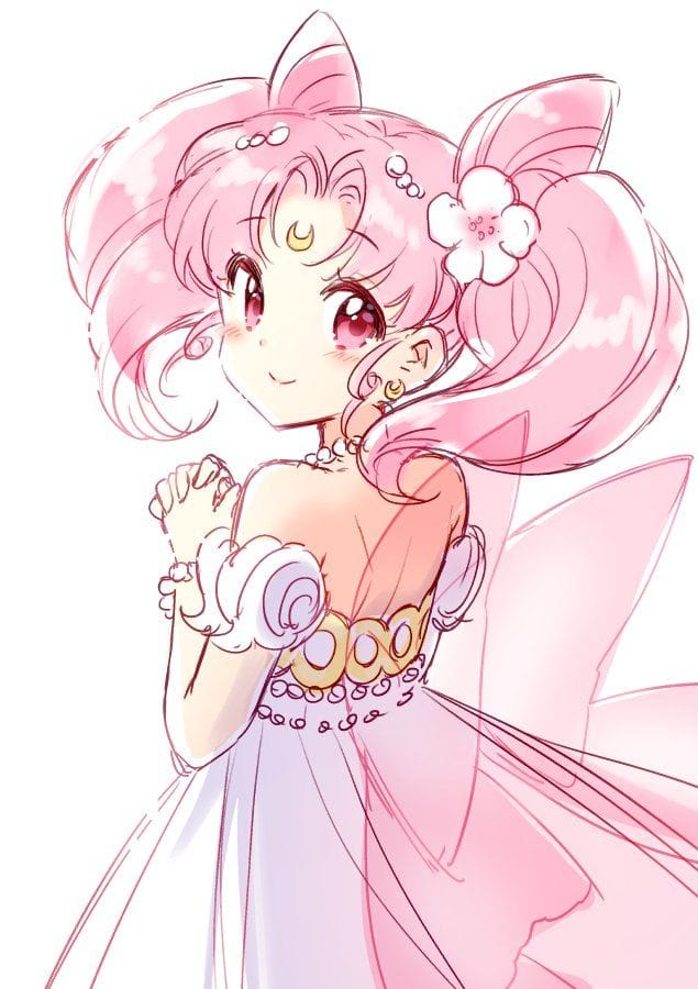 Chibi Moon Sailor Mini Moon Sailor Moon Character Sailor Moon Wallpaper