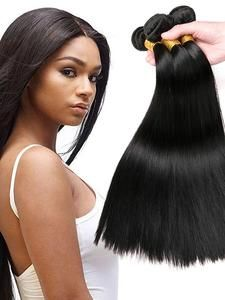 6 Bundles Brazilian Hair Straight 8A Human Hair Bundle Hair One Pack Solution Human Hair Extensions 8-28 inch Natural Color Human Hair Weaves Extention Best Quality Hot Sale Human Hair Extensions