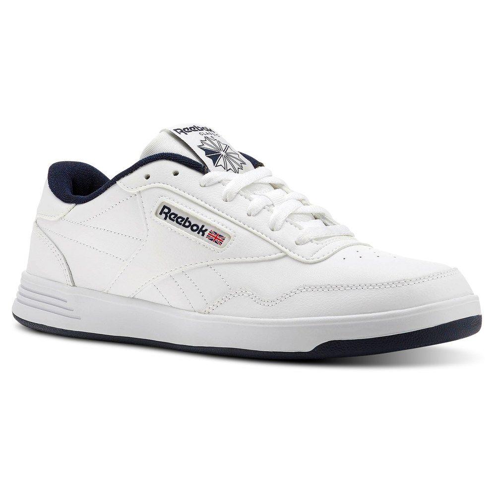 Reebok Men/'s Club C Leather Athletic Shoe Memory Tech foam insole Leather casual