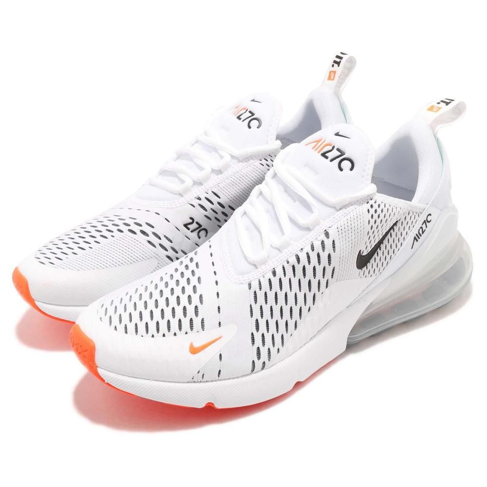 e012dc789a9 Nike Air Max 270 Just Do It JDI White Total Orange Men Running Shoes AH8050- 106  fashion  clothing  shoes  accessories  mensshoes  athleticshoes  ad  (ebay ...