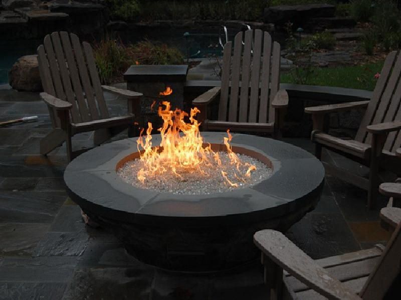 Gas Fire Pit Dining Table Also Gas Fire Pit Distance From House Gas Fire Pits Outdoor Fire Pit Gas Firepit