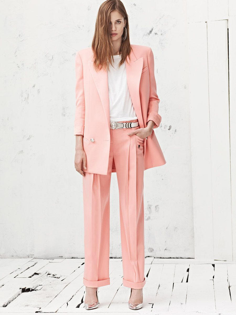 Balmain Resort 2013 | Working woman, Suits and Pants