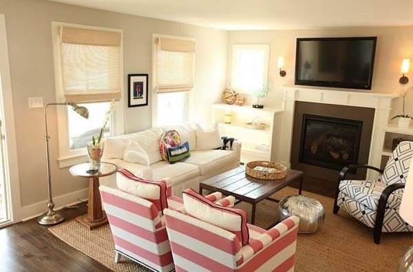 38 Small Yet Super Cozy Living Room Designs Small Living Rooms Small Living Room Design Small Family Room