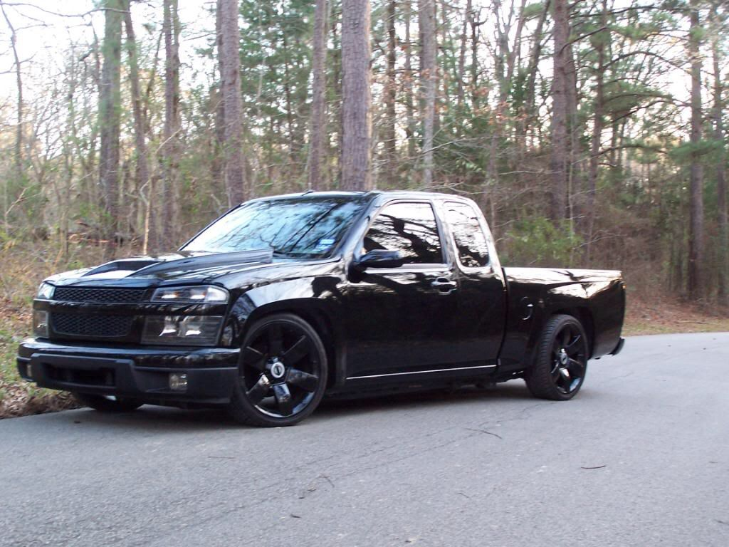 Lowered Chevy Colorado | Chevy, Dump trucks, Single cab trucks