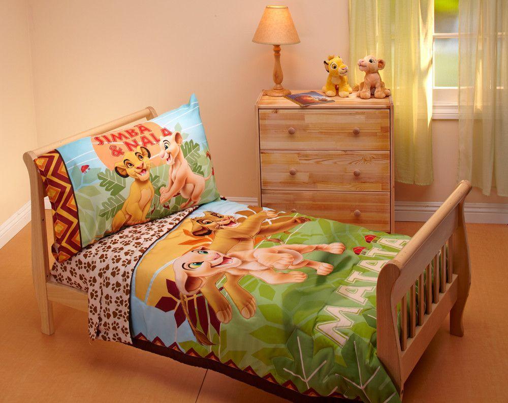 Lion King Jungle Beat 4 Piece Toddler Bedding Set   H O M E   Pinterest