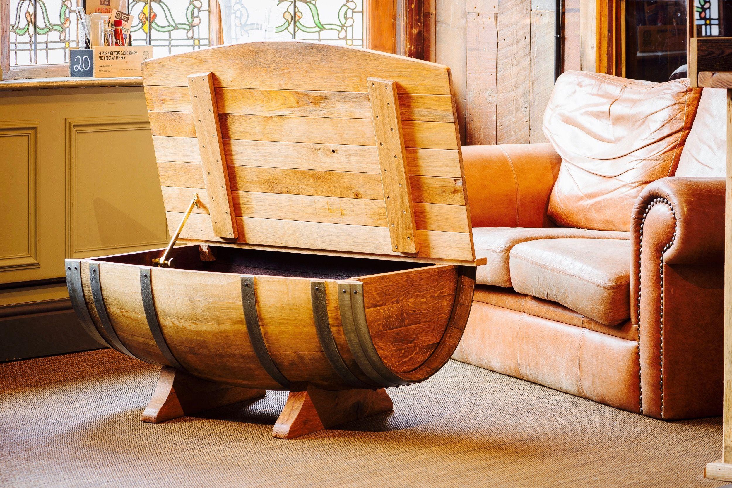 12++ Whiskey barrel coffee table uk inspirations